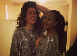 Makeda and Suzan dolled up